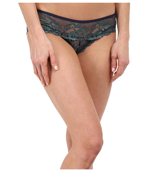 Imbracaminte Femei Free People Wild Roses Hipster Undie Navy Seamist Combo