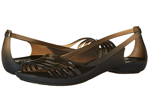 Incaltaminte Femei Crocs Isabella Huarache Flat Black