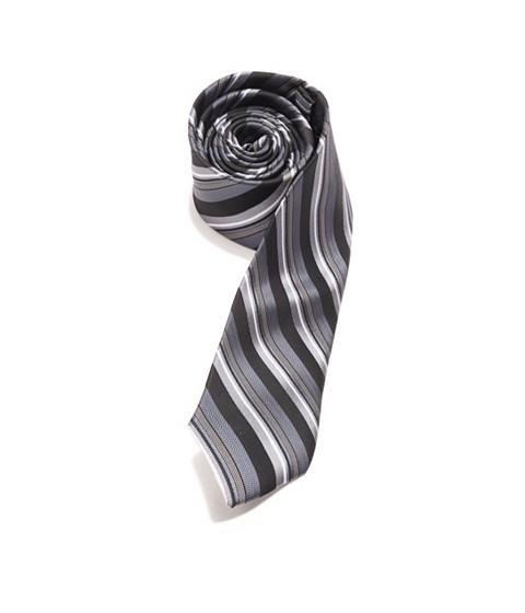 Accesorii Barbati GUESS Tonal Striped Tie black