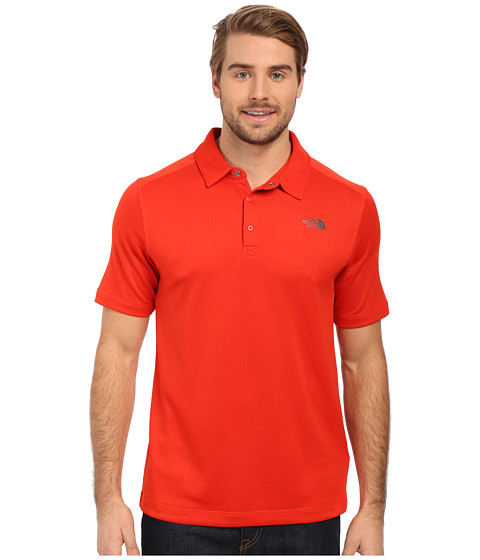 Imbracaminte Barbati The North Face Short Sleeve Horizon Polo Fiery Red