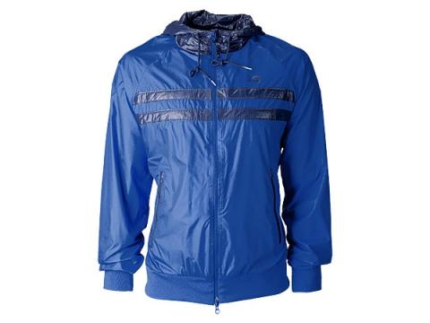 Imbracaminte Barbati New Balance Mens Sagamore Windbreaker Jacket Majolica Blue