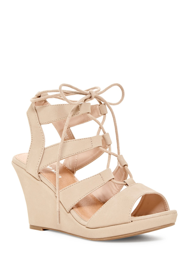 Incaltaminte Femei Top Guy Modern Wedge Sandal BEIGE