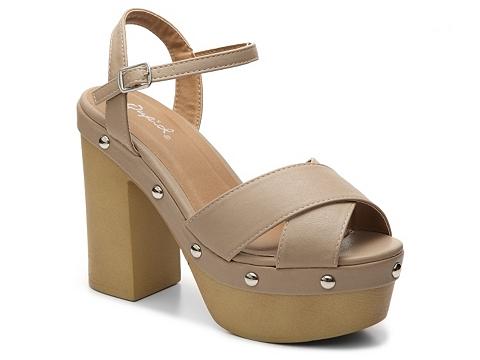 Incaltaminte Femei Qupid Elma Sandal Taupe