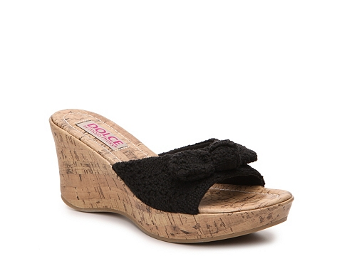Incaltaminte Femei DOLCE by Mojo Moxy Piper Wedge Sandal Black