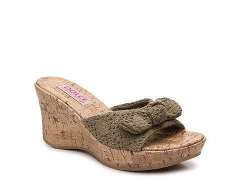 Incaltaminte Femei DOLCE by Mojo Moxy Piper Wedge Sandal Green