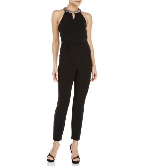 Imbracaminte Femei XOXO Black Embellished Halter Jumpsuit Black