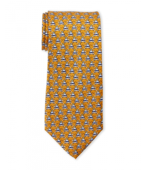 Accesorii Barbati Pierre Cardin Turtle Silk Tie Orange