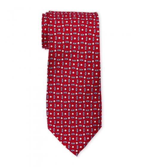 Accesorii Barbati Pierre Cardin Dragonfly Print Silk Tie Red