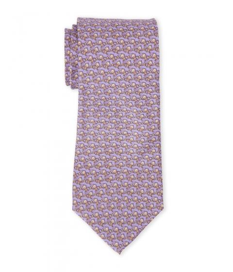 Accesorii Barbati Pierre Cardin Mini Monkey Print Silk Tie Lavender
