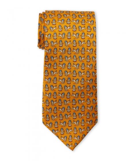 Accesorii Barbati Pierre Cardin Lion King Silk Tie Orange