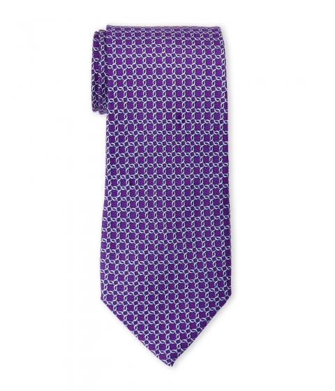 Accesorii Barbati Pierre Cardin Silk Chain Link Tie Purple