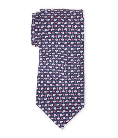 Accesorii Barbati Pierre Cardin Mini Elephant Dot Silk Tie Navy