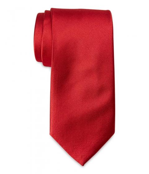 Accesorii Barbati Pierre Cardin Solid Tone Tie Red
