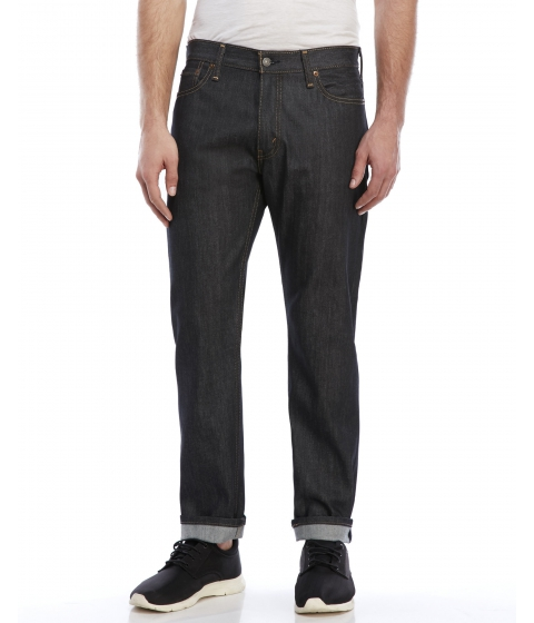 Imbracaminte Barbati Levi's 504 Regular Straight Jeans Rigid Navy