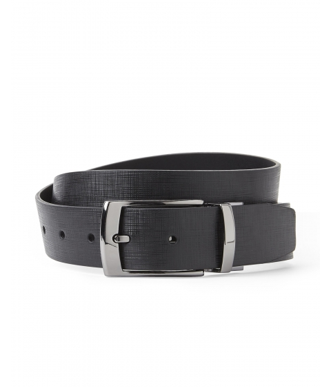 Accesorii Barbati English Laundry Reversible Bonded Leather Belt Black