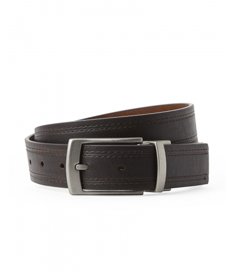 Accesorii Barbati English Laundry Reversible Stitched Bonded Leather Belt Brown Tan